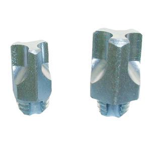 Franks selbstschneidende Gewindestollen H-Stollen 18 mm, M 10 8 Stück self-cuttings studs