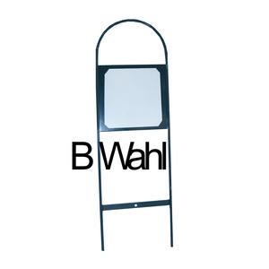 Bahnpunkte Metallkonstruktion Dressurviereck-Markierung zum Stecken, ohne Buchstaben