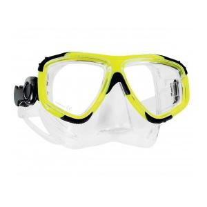 Zoom Maske Clear Silicon Yellow