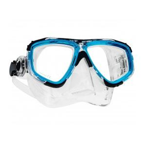 Zoom Maske Clear Silicon Trsp. Blue