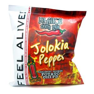 Blairs Chips Jolokia Pepper 85g Beutel