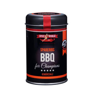 Barbecue-for-Champions Spareribs Gewürz , 100g Streudose