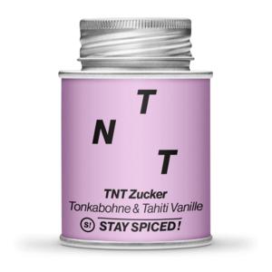 TNT - Zucker [Tonkabohne & Tahiti Vanille] 170ml Schraubdose