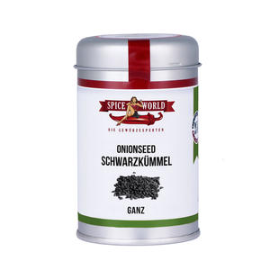 Schwarzkümmel - Onionseed - ganz - 100g Streudose