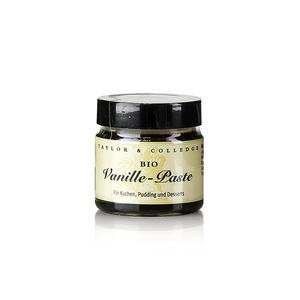 Australien Vanille-Extrakt-Paste mit Stippen, Taylor & Colledge, BIO, 65g GLAS