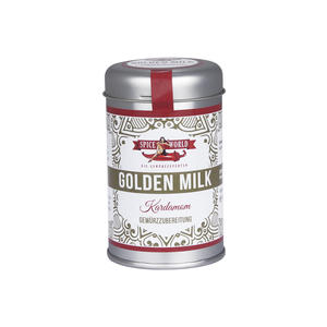 Golden Milk Kardamom, 90g Streudose 95