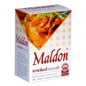 Maldon Sea Salt Flakes - geräuchert 125g Karton
