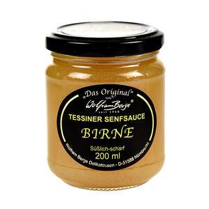 Original Tessiner Birnen-Senf-Sauce, 200 ml GLAS