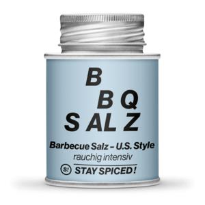US-Style BBQ Salz, rauchig intensiv, 170ml Schraubdose