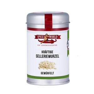 Selleriewurzel Würfel 10x10mm - 80g Streudose