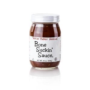 Bone Suckin' Sauce Regular, BBQ Sauce, Ford's Food, 473 ml GLAS