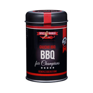 Barbecue-for-Champions - Gaucho BBQ - Argentina Style Gewürzzubereitung , 110g Streudose