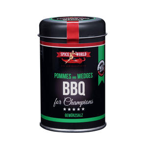 Barbecue-for-Champions Wedges - Pommes, 140g Streudose