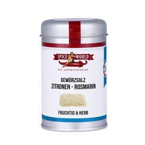 Zitronen-Rosmarin-Salz , 190g Streudose