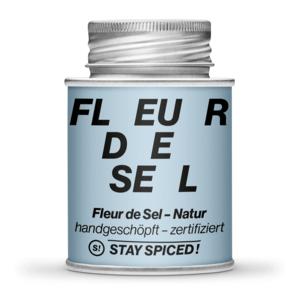 Fleur de Sel / Flor de Sal - Natural- zertifiziert 170ml Schraubdose