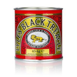 Melasse aus Zuckerrohr, dunkel, Lyle's black treacle, 454 g DOSE
