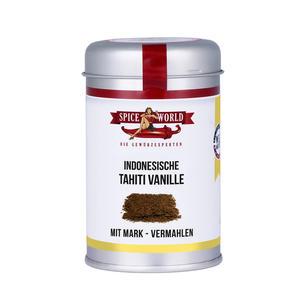 Tahiti Vanille gemahlen, 30g Streudose