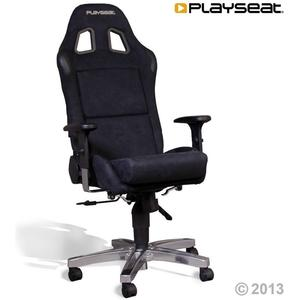 Office Seat Alcantara - black