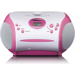 SCD-24 Kids pink Stereo UKW Radio mit CD-Player