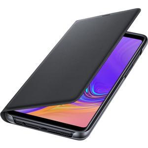 Flip Wallet für Galaxy A9 (2018) - schwarz