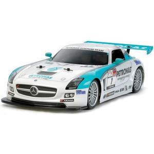 Mercedes SLS AMG, GT3 Petronas Bausatz, 1:10, 4WD, TA-06 Chassis