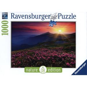 Nature Edition: Bergwiese im Morgenrot - Puzzle [1000 Teile]