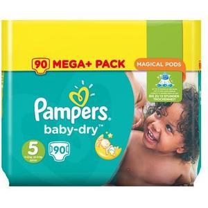 Baby Dry Mega Plus Pack Gr. 5 Junior, 90 Stk.