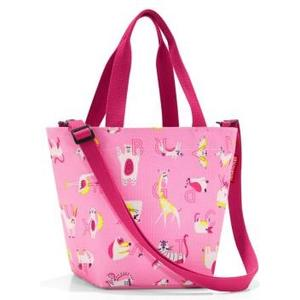Tasche Shopper XS kids ABC Friends pink, 4l, 31 x 21 x 16