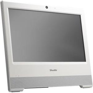Barebone X50V6 White Touchscr. AiO Intel Cel. 3865U, 2x DDR4 SO-DIMM