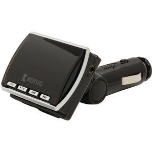 UKW Audiosender 3.5 mm Schwarz