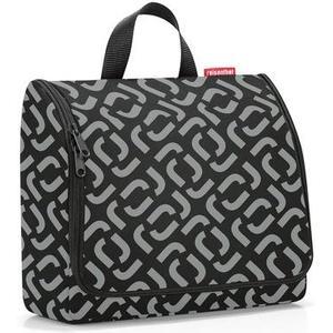 Kosmetiktasche toiletbag XL signature black