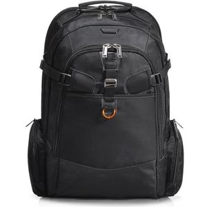 Titan XXL Laptop Backpack - schwarz/orange
