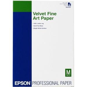Velvet Fine Art Paper, DIN A3+, 260g / m2 - 20 Blatt
