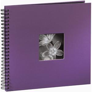 """Spiralalbum """"Fine Art"""" 36X32/50 - violett"""