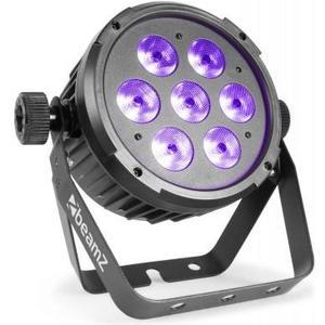 BT280 FlatPAR 7x 10W 6-in-1 LEDs