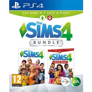 Die Sims 4 + Hunde & Katzen Bundle [PS4] (D/F/I)