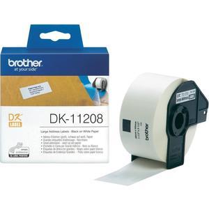Adress-Etikett, 38x90mm, 400 Stück, Papier, weiss