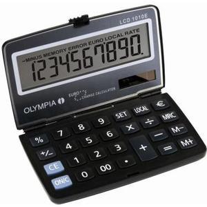 Taschenrechner LCD 1010E Batterie- und Solarbetrieb