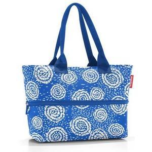 Schultertasche shopper e1 Special Edition: batik strong blue