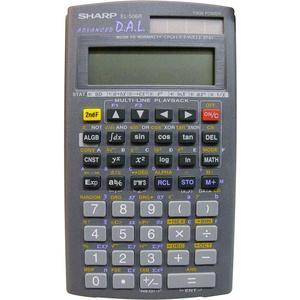 SHARP EL506R wissenschaftlicher Schulrechner