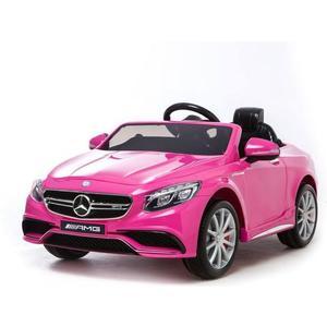 Minicar Mercedes S63 - pink