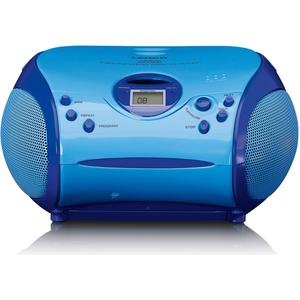 SCD-24 Kids blau Stereo UKW Radio mit CD-Player