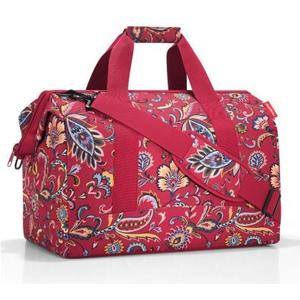 Schultertasche Allrounder L 30 l paisley ruby, 48 x 39.5 x 29 cm