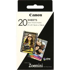 """ZP-2030 Zink Papier 2x3"""" (50x76mm), 20 Blatt"""