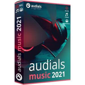 Audials Music 2021 (Code in a Box) (DE)