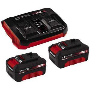 Starterkit PXC Twincharger 2x 3 Ah PXC-Ladegerät 18V mit 2x 3 Ah Akkus