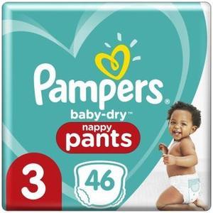 Baby Dry Pants Gr.3 Midi 6-11kg Sparpack 46Stk.