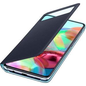 S View Wallet Cover für Galaxy A71 - schwarz