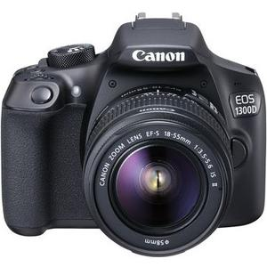 EOS 1300D + 18-55mm + 75-300mm USM