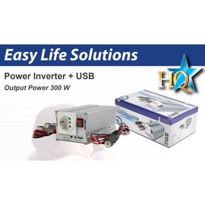 inverter 12 - 230 V 300 W with USB